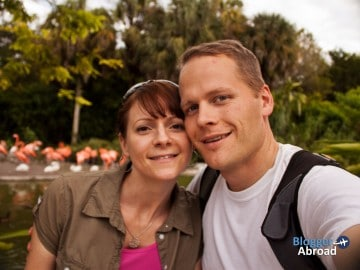 Bryan and Dena Haines in Miami, Florida
